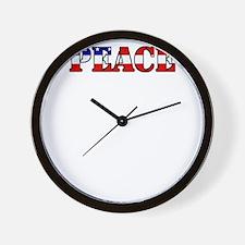 peace b52 dark Wall Clock