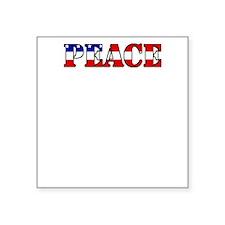 "peace b52 dark Square Sticker 3"" x 3"""