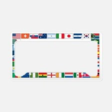 world cup b License Plate Holder