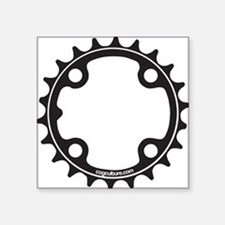ChainRing Square Sticker 3