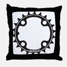 ChainRing Throw Pillow