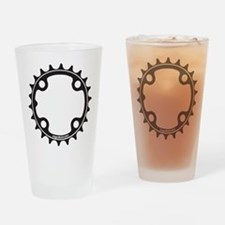 ChainRing Drinking Glass