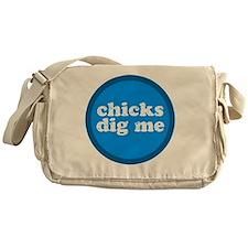 chicksdigme Messenger Bag