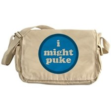 imightpuke Messenger Bag