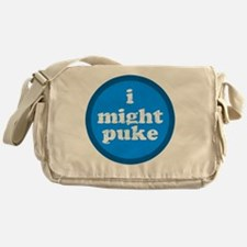 imightpuke Messenger Bag