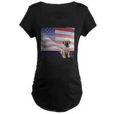 FIN-puggle-patriotic2-CROP T-Shirt