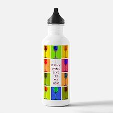 wine copy Water Bottle