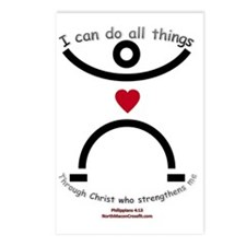 christ Postcards (Package of 8)