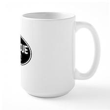 Rescue nose oval-black Mug