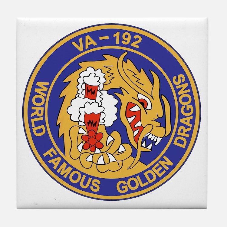 va-192_golden_dragons Tile Coaster