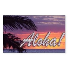 Aloha-GermainesSunset_14x10 Decal