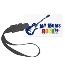 Blue Guitar_Moms Luggage Tag