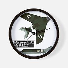 Me P.1112_messerschmitt Wall Clock