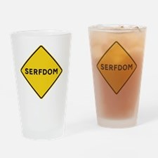 Road to Serfdom Drinking Glass