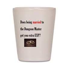 2-Married to DM Shot Glass