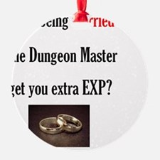 2-Married to DM Ornament