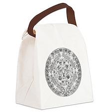 aztec b Canvas Lunch Bag