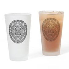 aztec b Drinking Glass