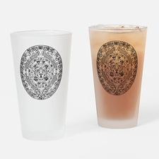 aztec b Drinking Glass