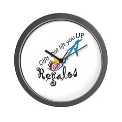 """Regalos"" the gift Wall Clock"