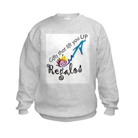 """Regalos"" the gift Kids Sweatshirt"