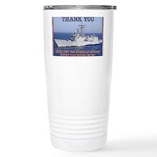 thank you card copy Travel Mug