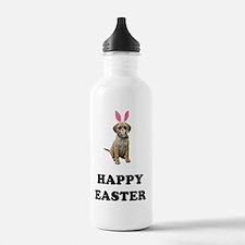 FIN-puggle-easter Water Bottle