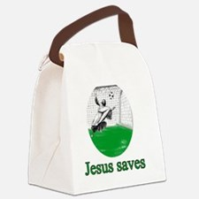 jesus_saves Canvas Lunch Bag