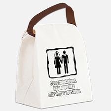wedding1 Canvas Lunch Bag