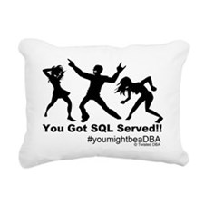 YouGotServed Rectangular Canvas Pillow