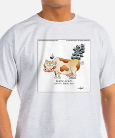 TIPPING POINT by April McCallum T-Shirt
