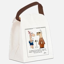 WORK LIFE BALANCE by April McCall Canvas Lunch Bag