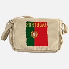 portugal flag Messenger Bag
