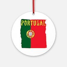 portugal flag Round Ornament