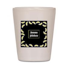 BananaStickersBox Shot Glass