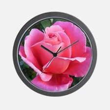 Pink Ballet Skirts Rose Wall Clock