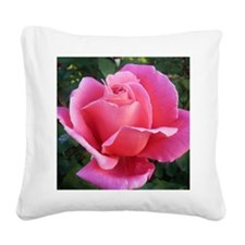 Pink Ballet Skirts Rose Square Canvas Pillow