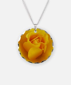 Yellow Rose Full Bloom A Necklace
