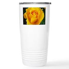Yellow Rose Full Bloom A Travel Mug