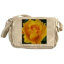 Yellow Rose Full Bloom A Messenger Bag