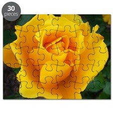 Yellow Rose Full Bloom A Puzzle