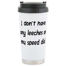 Leeches on Speed Dial Travel Mug