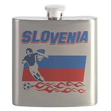soccer player designs Flask
