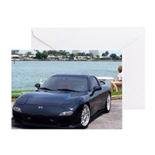 Cute Rx7 Greeting Card