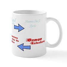 Edward vs. Damon Mug