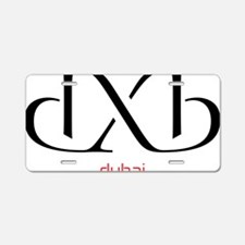 dxb Aluminum License Plate
