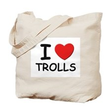 I love trolls Tote Bag