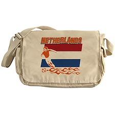 soccer player designs Messenger Bag