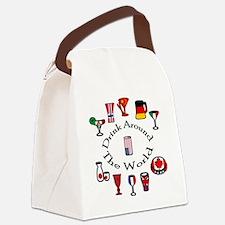 DrinkAroundTheWorld Canvas Lunch Bag