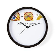 NoScissorsNoGlue Wall Clock